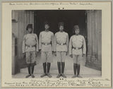 'Sergeant and three Privates of the King's African Rifles'