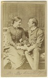 Madge Kendal as Dora; William Hunter Kendal (William Hunter Grimston) as Captain Beauclerc in 'Diplomacy'