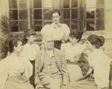 Sir Richard Strachey and daughters