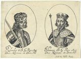 King Richard I ('the Lionheart'); King John (fictitious portraits)