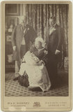'Four Generations' (King Edward VII; Prince Edward, Duke of Windsor (King Edward VIII); Queen Victoria; King George V)