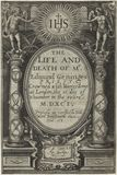 Title page to 'The Life and Death of Mr. Edmund Geninges'