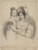 Queen Victoria; Princess Victoria, Duchess of Kent and Strathearn