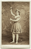 Fanny Wright (Mrs Williams) as Bacchus in 'Bacchus and Ariadne'