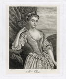 Catherine ('Kitty') Clive (née Raftor) as Phillida in Cibber's 'Damon and Phillida'