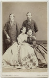 King Edward VII; Princess Alice, Grand Duchess of Hesse; Louis IV, Grand Duke of Hesse and by Rhine; Queen Alexandra