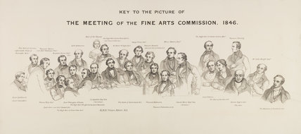 Key to 'The Fine Arts Commissioners, 1846'