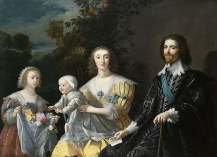 The Duke of Buckingham and his Family