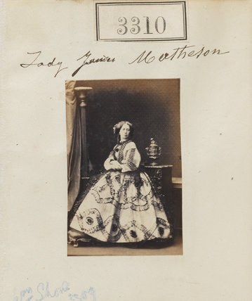 Mary Jane (née Perceval), Lady Matheson