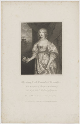 Elizabeth Cavendish (née Cecil), Countess of Devonshire