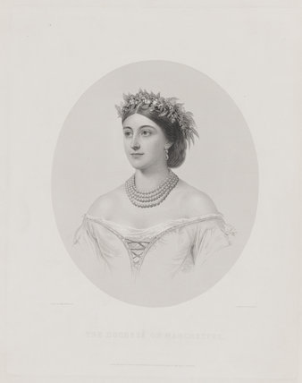 Louise Frederica Augusta Cavendish (née von Alten), Duchess of Devonshire (formerly Duchess of Manchester)