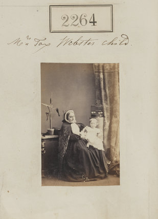 Unknown nurse, probably Muriel Lily Pares (née Webster)