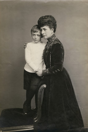 Olav V, King of Norway; Queen Alexandra