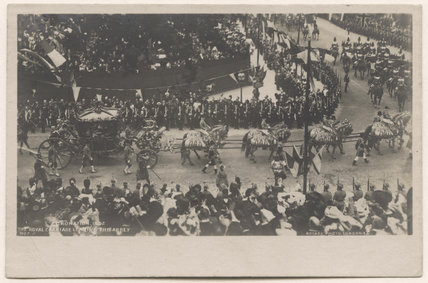 'Coronation 1902, The Royal Carriage Leaving the Abbey'