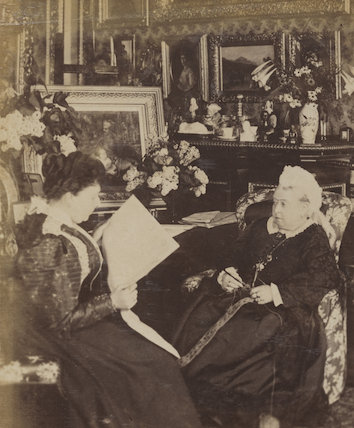 Princess Beatrice of Battenberg; Queen Victoria