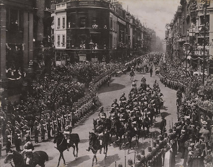 Queen Victoria's Diamond Jubilee Procession - The Indian Contingent