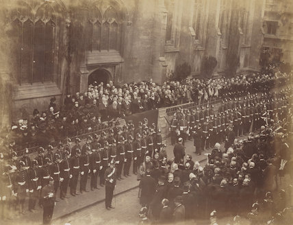 'Proclamation of King Edward VII at Oxford'