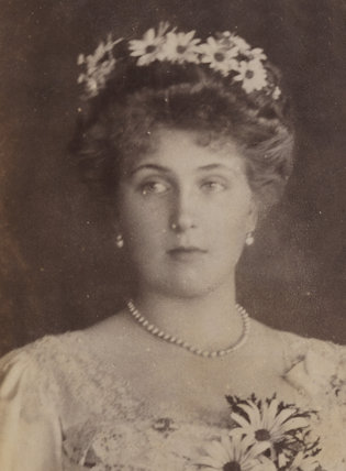 Victoria Eugenie ('Ena') of Battenberg, Queen of Spain