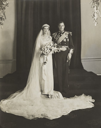 The wedding of Prince George, Duke of Kent and Princess Marina, Duchess of Kent