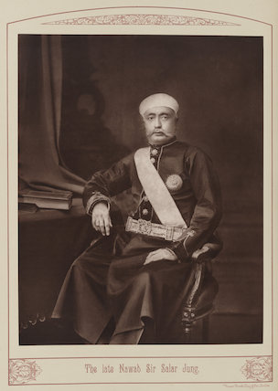 Sir Salar Jang of Hyderabad