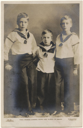 'T.R.H. Princes Edward, Henry and Albert of Wales'