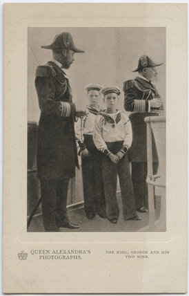 King George V; Prince Edward, Duke of Windsor (King Edward VIII); King George VI; King Edward VII