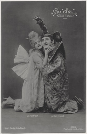 Dora Hrach and Anton Franck in 'Geisha'