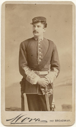 Henry James Montague (né Mann) as Captain Molineaux (Molyneux) in 'The Shaughraun'