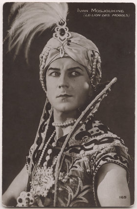 Ivan Mosjoukine in 'The Lion of the Mongols'