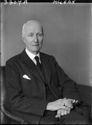 Sir William Hannah McLean