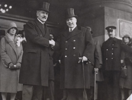 Ramsay MacDonald; William Lyon Mackenzie King
