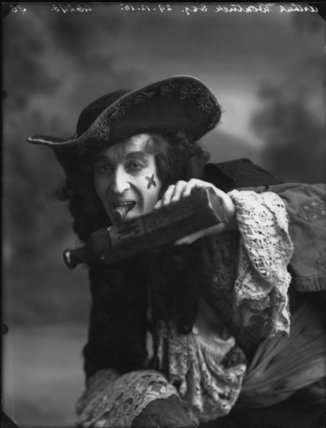 Arthur Wontner as Captain Hook in 'Peter Pan'