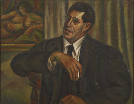 Samuel Solomonovitch Koteliansky by Mark Gertler, 1930 (Private Collection) Virginia Woolf: Art, Life and Vision, 10 July - 26 October 2014