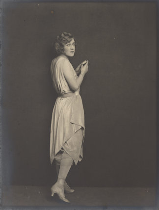 Phyllis Monkman as Victorine in 'A Night Out'