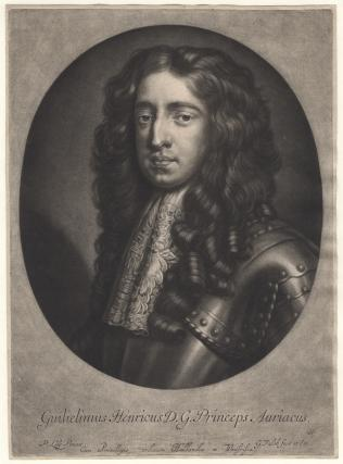 King William III when Prince of Orange
