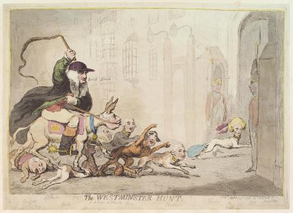 'The Westminster hunt'