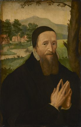 Unknown man, formerly known as Richard Hooker