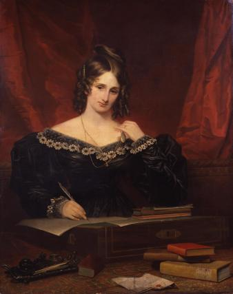 Unknown woman, formerly known as Mary Wollstonecraft Shelley