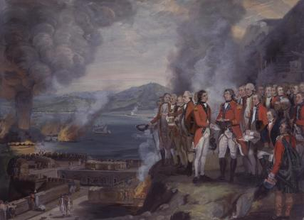 The Siege of Gibraltar, 1782