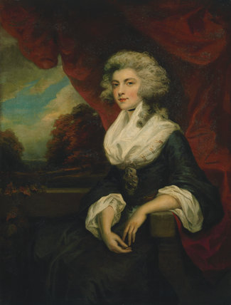 Unknown woman, formerly known as Elizabeth Christiana Cavendish (née Hervey), Duchess of Devonshire