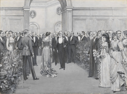 The Royal Academy Conversazione, 1891