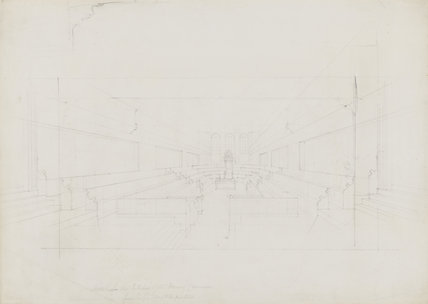 Sketch of the Interior of the House of Commons