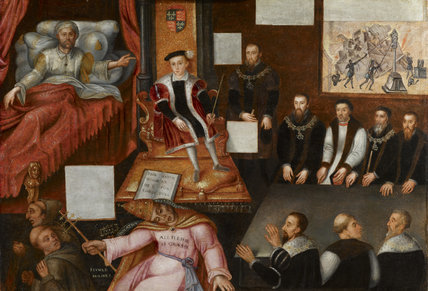 King Edward VI and the Pope