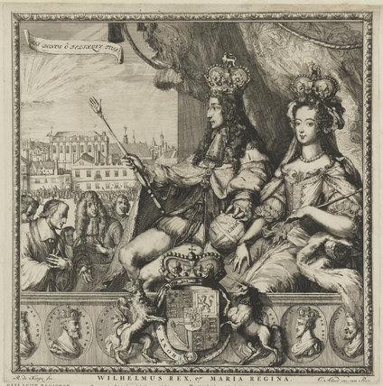 King William III; Queen Mary II