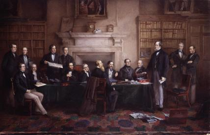 The Derby Cabinet of 1867