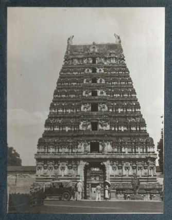 Temple of Vellore (Lady Ottoline Morrell and three others)