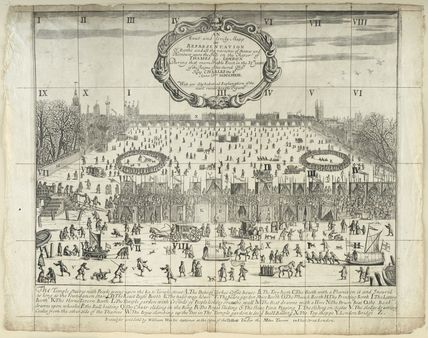 The Thames Frost Fair, 1683