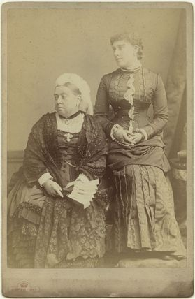 Queen Victoria; Princess Beatrice of Battenberg