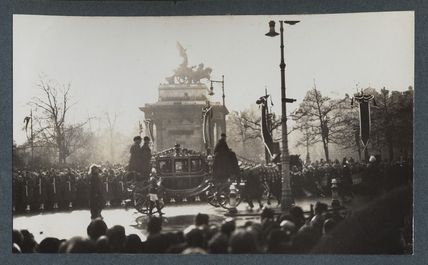 'The Funeral Procession of King George V'