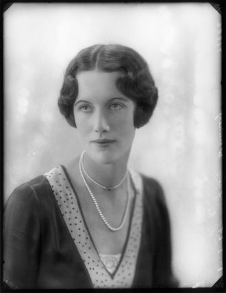 Mary Gwendoline Charlotte Croysdale (née Hillman, later Lady Whinney)